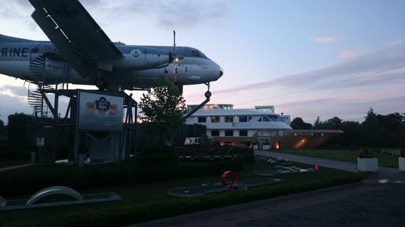 wellnessboot-vliegtuig