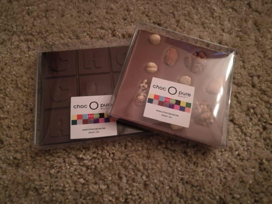 Choc O Pure chocola met stevia