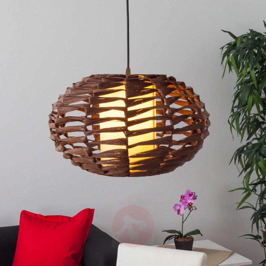 hanglamp zacht hout