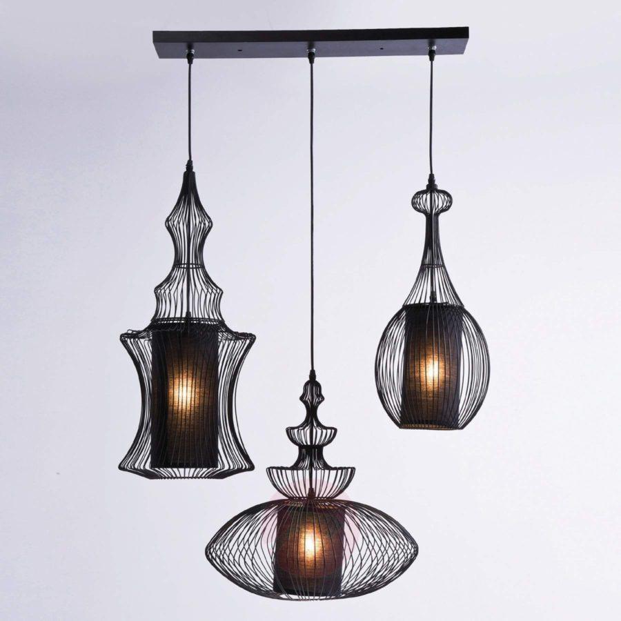 hanglamp drie delen