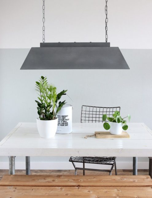 stal lamp beton look