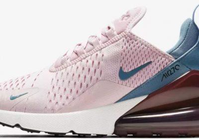 nike air max 270 roze blauw