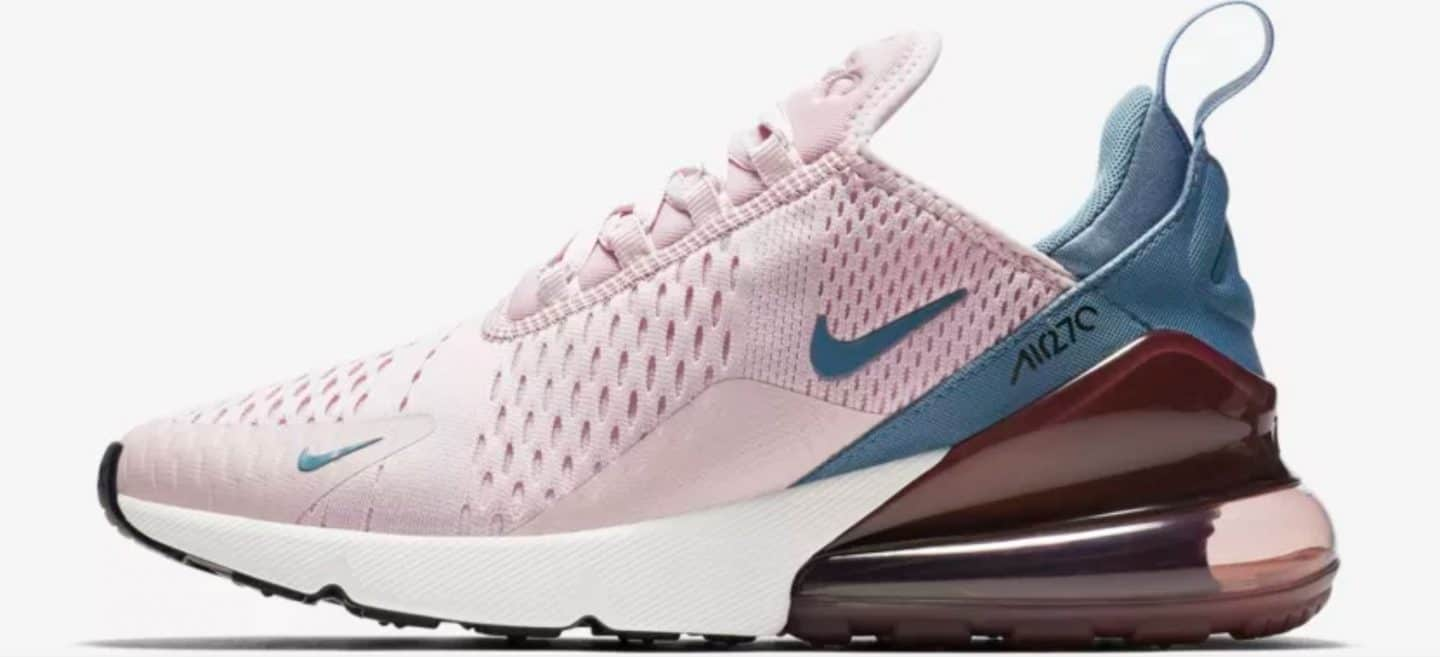 nike air max roze zool