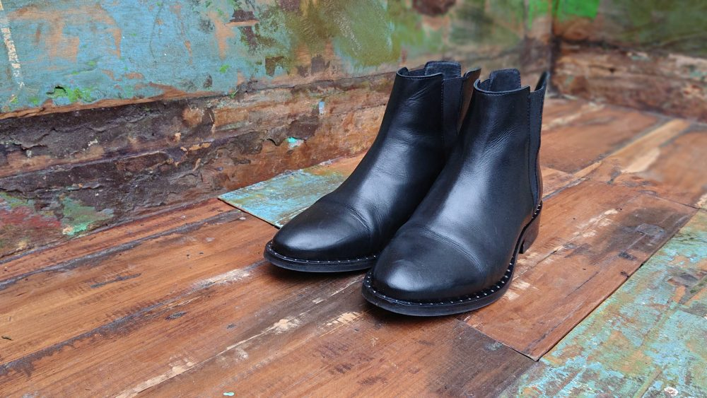 zwarte chelsea boots