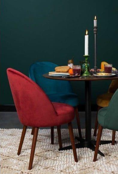 dutchbone barbara stoeltjes rond tafel