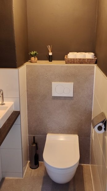 nieuwe wc