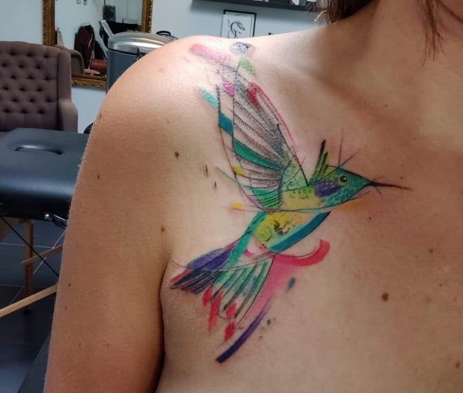 kolibrie tattoo