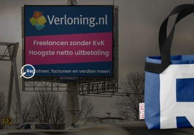 van billboard naar tas