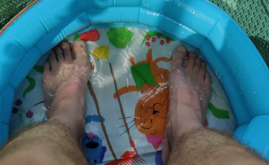 voetenbad koud